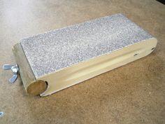 Recycled Belt Sanding Block / Bloc de ponçage pour bandes abrasives recyclées