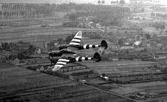 Lockheed P-38 Lightning over Normandy