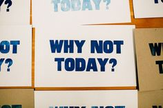 Why Not Today? via Journal | VSCO