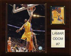 Lamar Odom Los Angeles Lakers Plaque