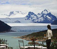Glacier in Patagonia, Argentina