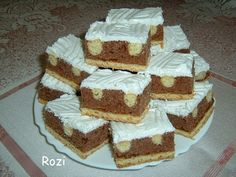 Rozi Erdélyi konyhája: Jogász falat Krispie Treats, Rice Krispies, Winter Food, Vaj, Tiramisu, Cukor, Fondant, Ethnic Recipes, Desserts