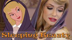 Sleeping Beauty Princess Aurora Briar Rose Makeup Tutorial - Makeup Tips Disney Makeup Tutorial, Wedding Makeup Tutorial, Makeup Tutorials, Makeup Ideas, Makeup Tips, Sleeping Beauty Costume, Sleeping Beauty Princess, Aurora Sleeping Beauty, Rose Costume