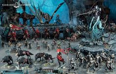 Warhammer Armies, Warhammer Aos, Warhammer Vampire Counts, Best Horrors, Mini Paintings, Tabletop Games, Cthulhu, Dungeons And Dragons, Painting Inspiration