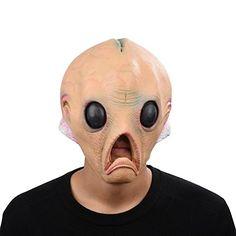 Party Story Halloween Maske latex Alien Tiermaske Kostüm: Amazon.de: Spielzeug