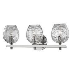 Burns 3 Light Bath Vanity Light