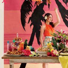 How to Throw a Luau Party | rachaelraymag.com