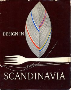 This is a catalogue for a travelling exhibit of Scandinavian Design. I can't find a date anywhere on it, judging from the contents it probably wasn't published any later than 1960. The cover design design and interior layout is by Finnish designer Tapio Wirkkala.
