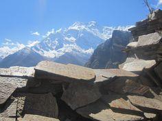 Mani Stone Wall Annapurna Circuit Nepal [4320x3240]