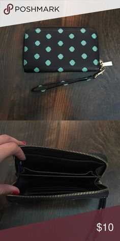 Polka dot wallet/wristlet Near perfect condition! I just don't use it anymore! Bags Wallets