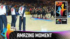 Bastketball WM: New Zealands Haka Dance vs. USA