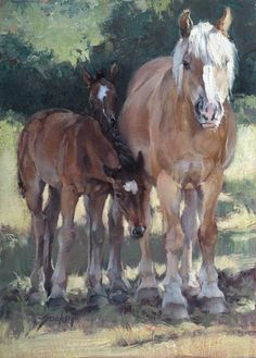 Jill Soukup, Shadow Security, oil, 30 x - Southwest Art Magazine Watercolor Painting Techniques, Painting & Drawing, Beautiful Horse Pictures, Animal Paintings, Horse Paintings, Pastel Paintings, Horse Artwork, Southwest Art, Amazing Drawings