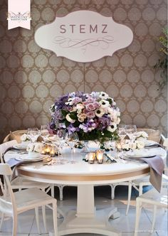 from the amazing WedLuxe Wedding Show!- love the colors. Wedding Reception Decorations, Wedding Themes, Wedding Ideas, Wedding Bouquets, Wedding Flowers, Bridal Show Booths, Wedding Show, Wedding Stuff, Backdrop Ideas