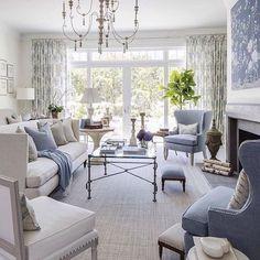"722 Likes, 2 Comments - Lavender Hill Interiors (@lavenderhillinteriors) on Instagram: ""Calming colour. Image via Pinterest."""