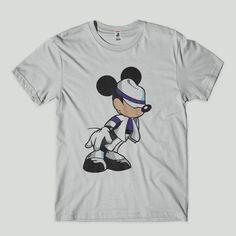 365d7bfe52 camisa camiseta masculina engracada mickey jackson algodao