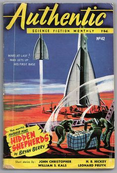 Authentic Science Fiction Monthly (February 1954) British | Flickr - Photo Sharing!