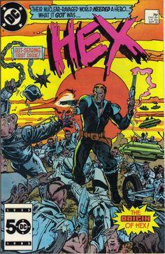 DC comics Hex 1 by ArklahomaComics on Etsy