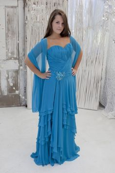 Chiffon gown for $160