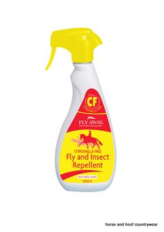 Fly Away Citronella Free Fly Insect Repellent Contains a powerful and effective natural herbal formula suitable for horses sensitive to citronella.