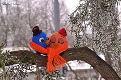 Woolen Street • Мастерская войлочных игрушек: Птички-Валентинки