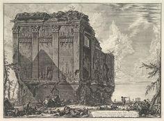 Giovanni Battista Piranesi | The so-called Temple of Salus, on the road to Albano (Tempio antico volgarmente detto della Salute) | The Met