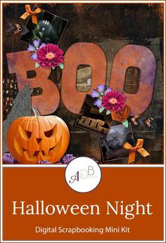 The Halloween Mini kit has plenty of elements to make your scrapbook pages scary or fun.  #HalloweenNight  #ADBDesigns  https://www.godigitalscrapbooking.com/shop/index.php?main_page=product_info&cPath=452&products_id=33677