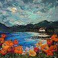 'By Poppy Shore' by Moy Mackay - fantastic felt artist.