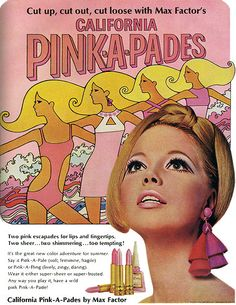 Love vintage cosmetic ads. And for some reason, everything comes to a point.