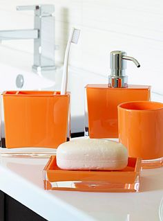 Google Image Result For  Http://www.betterbathroomshop.co.uk/images/colour1001477big | For The  Home | Pinterest | Orange Bathrooms, Bathroom Tumbler And ...