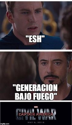 Marvel Civil War 1 Meme Generator - Imgflip