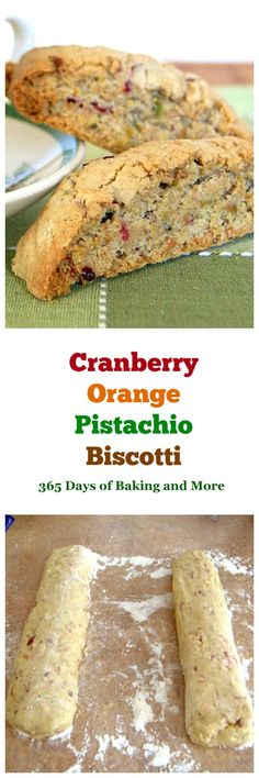 This Cranberry Orange Pistachio Biscottiis an Italian biscuit cookie with the flavors of the holiday season. They will be delicious dunked in a cup of tea or eaten with your morning coffee.