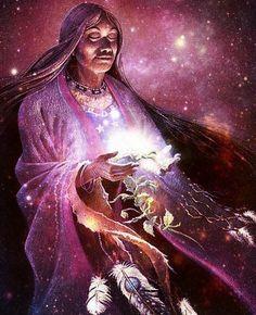 Medicine Woman...By Artist Unknown...