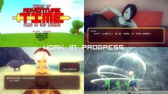 """What if """"Adventure Time"""" was a 3D anime game (Work in Progress)"""