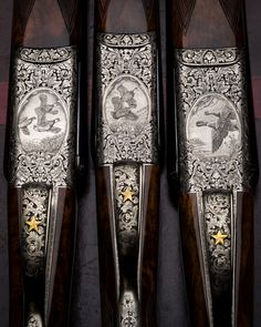 gentlemanbobwhite Westley Richards engraving by by Frederique Lepinois