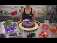(56) Sladká škola   01 - Čučoriedková torta   Lulus bakery - YouTube Russian Recipes, Cotton Candy, Bakery, Cheesecake, Sweet, Youtube, Polish, Kuchen, Candy