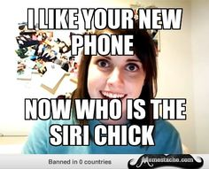 OVERLY ATTACHED GIRLFRIEND SIRI - Google Search