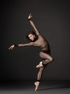 New York City Ballet's Jennie Somogyi, photographed by Henry Leutwyler