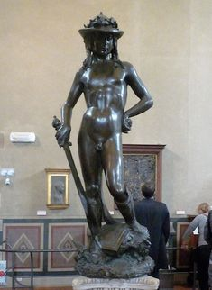 Donatello, David | Sculpture and architecture in Florence | Khan Academy