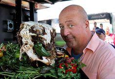Andrew Zimmern Tours Queens on Bizarre Foods America