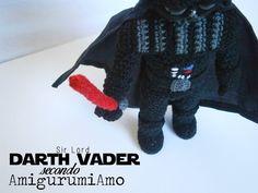 Darth Vader amigurumi FREE PATTERN (ITA+ENG)