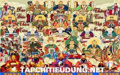 """Vương hiệu của """"12 vị Hành Khiển và 12 Phán Quan"""" Năm Đinh Dậu 2017"""