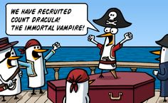 Why vampires and pirates can't work together
