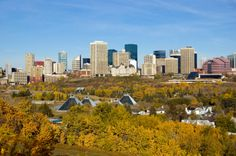 Autumn in Edmonton, Alberta, Canada