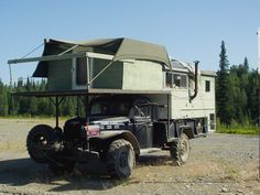 Alaskan Camper - sweet Power Wagon