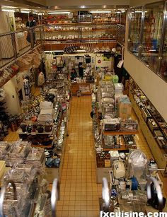 The World's Largest Cookware Market - Kappabashi-Dori in Tokyo