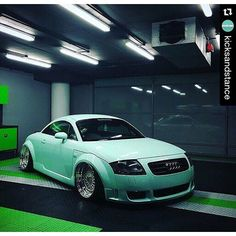 audi stance stanced automotive pinterest audi tt audi and mint. Black Bedroom Furniture Sets. Home Design Ideas