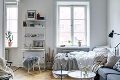 Post: Pequeño piso de 35 m² y la luz nórdica ---> estilo nórdico escandinavo, blog decoración nórdica, pisos pequeños decoración, decoración y luz nórdica, algodones linos chenillas textil hogar, imagenes románticas deco, decoración interiores minipisos