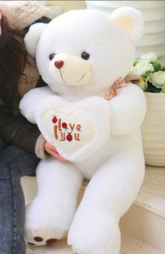 wholesale- 50 CM beetles heart bear bear arms fair young dolls best birthday present