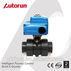 Electric Actuated PVC Plastic Ball Valve