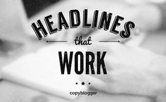 Could This Headline Technique Double Your Click-Throughs Too? - Copyblogger
